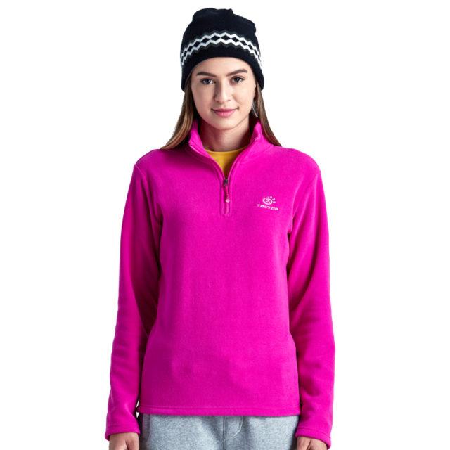 Unisex Outdoor Windproof Plus Size Fleece Jacket