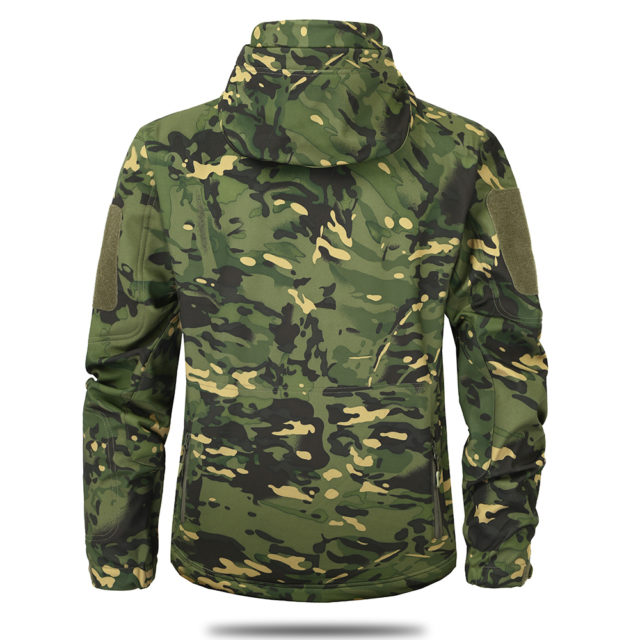 Camouflage Autumn Men's Jacket