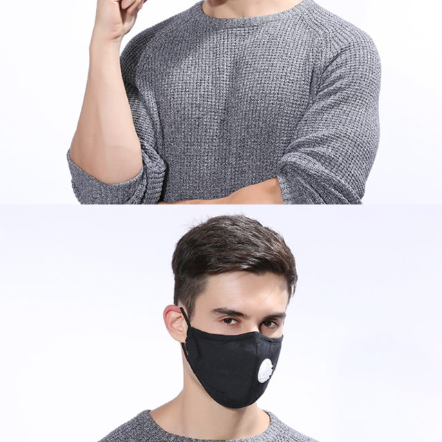 PROTECTIVE FACE MASK FOR BREATHING