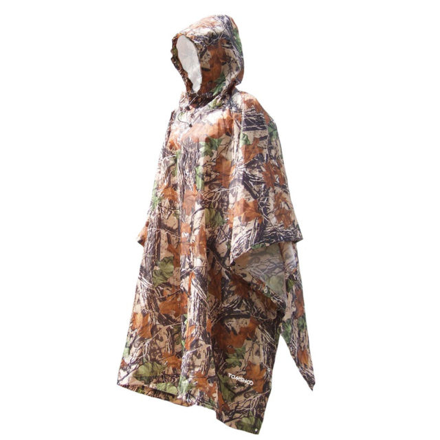 3 in 1 Rain Cover Poncho with Hood