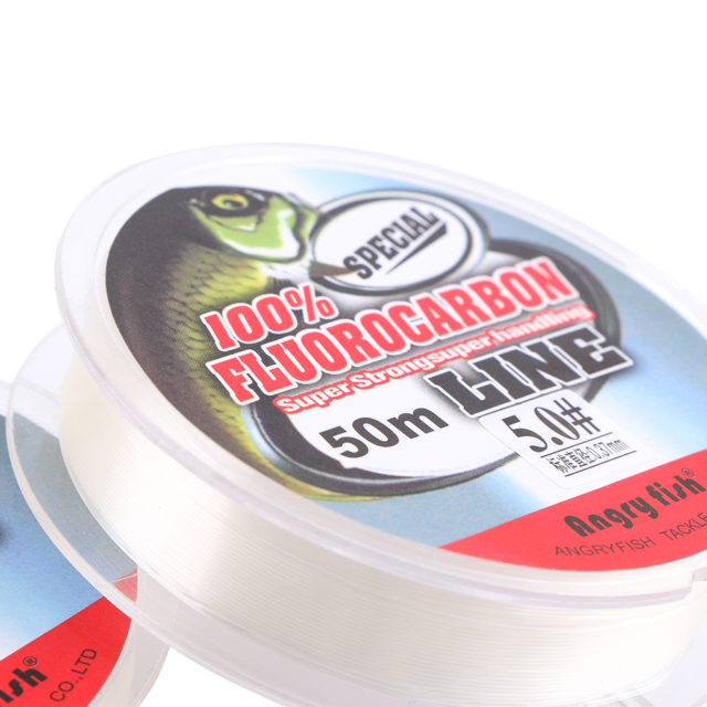 Strong Fluorocarbon Fishing Line