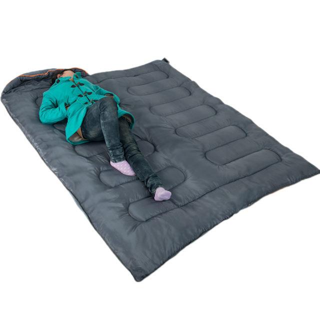 INSULATED CAMPING SLEEPING BAG