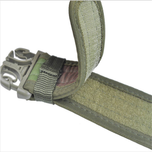 Camouflage Patterned Tactical Belt