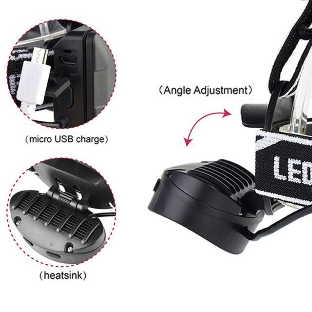 Night Fishing Motion IR Sensor LED Headlamp