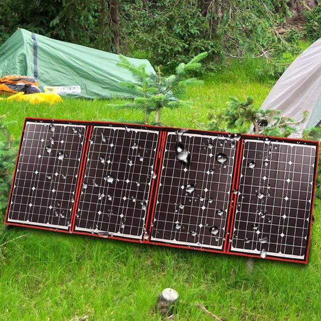 Flexible Foldble Solar Panel for Outdoor Camping