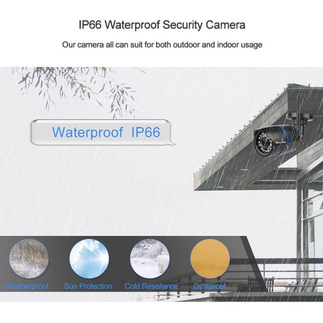 Wireless Outdoor IP Camera with IR Night Vision