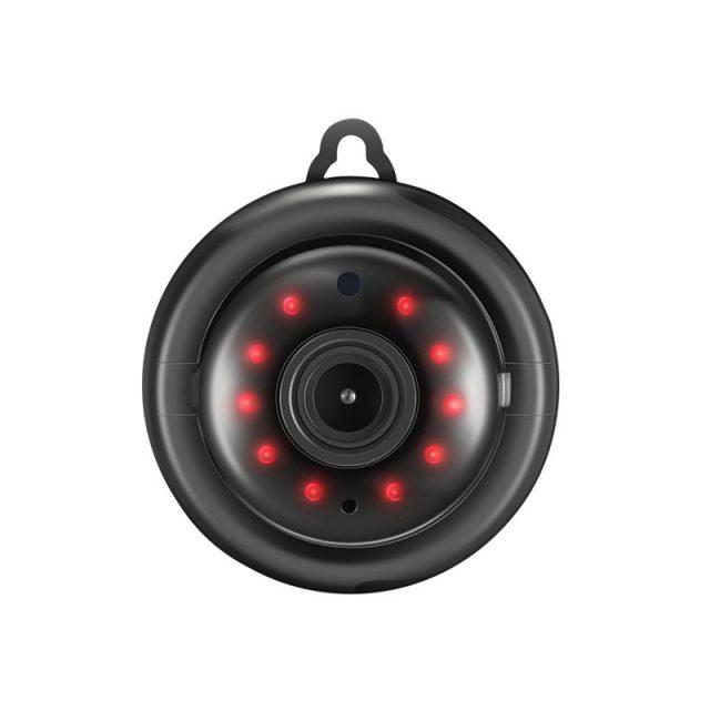 Mini IP Night Vision Round Camera