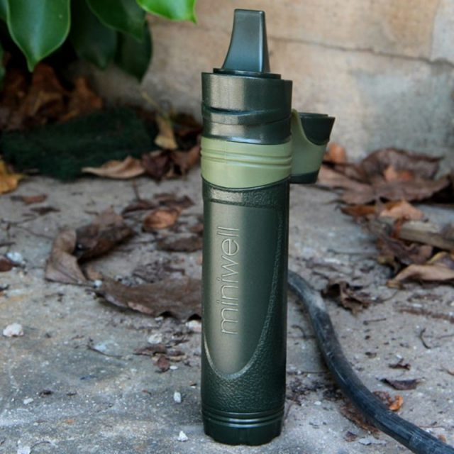 Outdoor Portable Compact Plastic Fresh Water Filter
