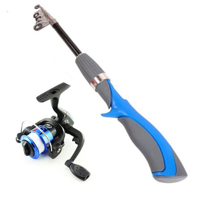 Ultra Light Fishing Rod and Reel Set