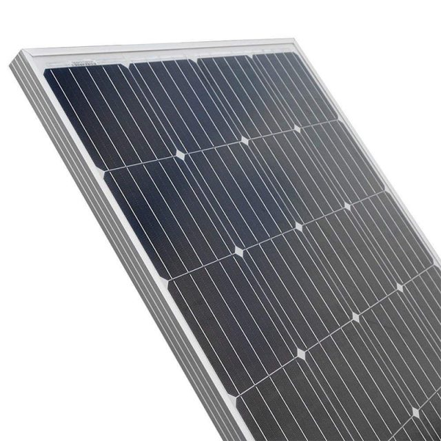 High Power Lightweight Monocrystalline Solar Cell
