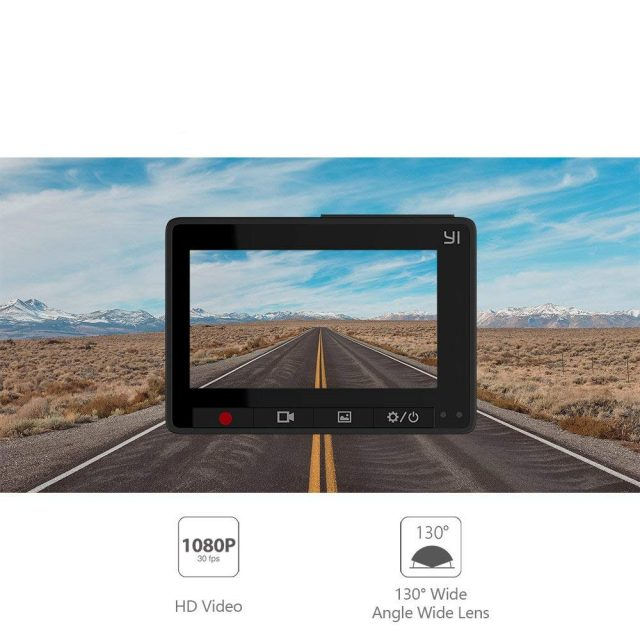 LCD Screen Full HD Dash Camera