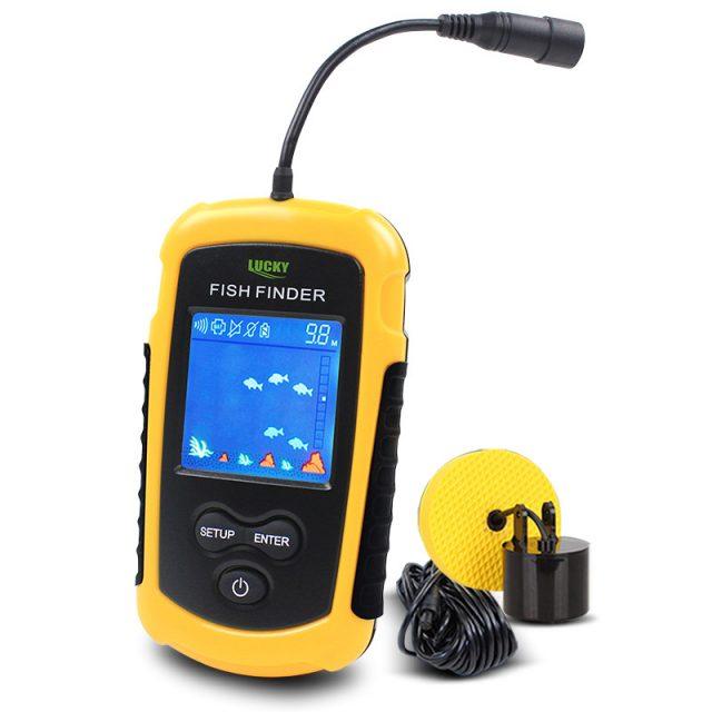 Portable Sonar LCD Display Fish Finders