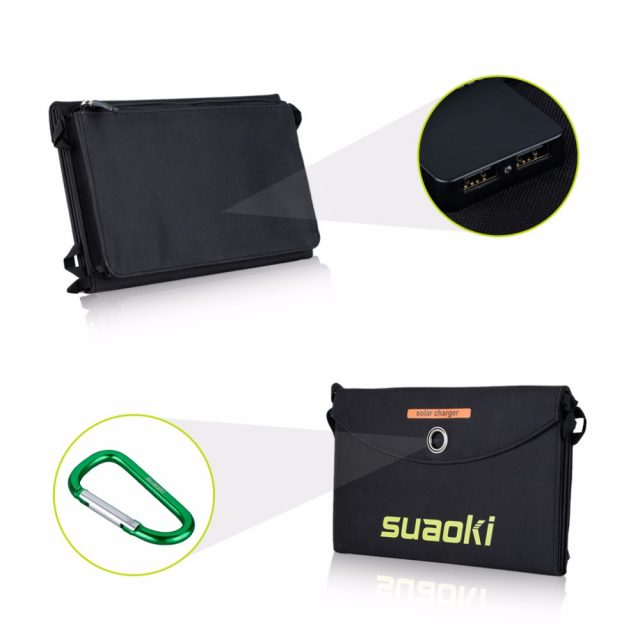 25W Portable Foldable Waterproof Solar Panels