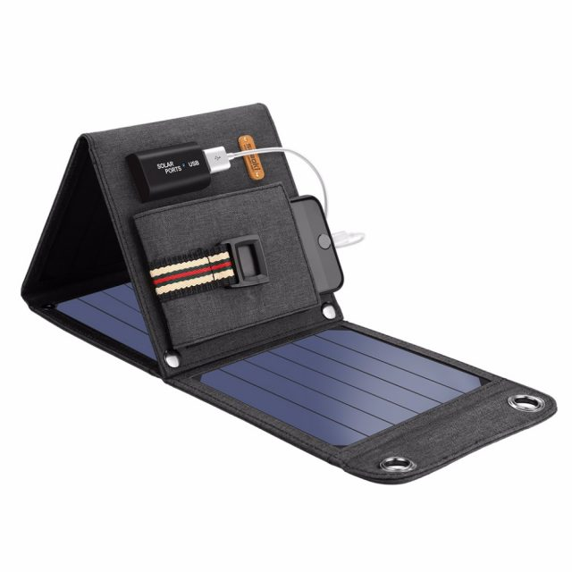 14W USB Solar Cells Charger 5V