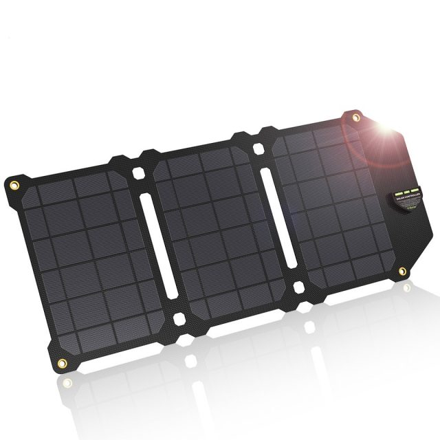 Folding Travel Dual USB Solar Charger