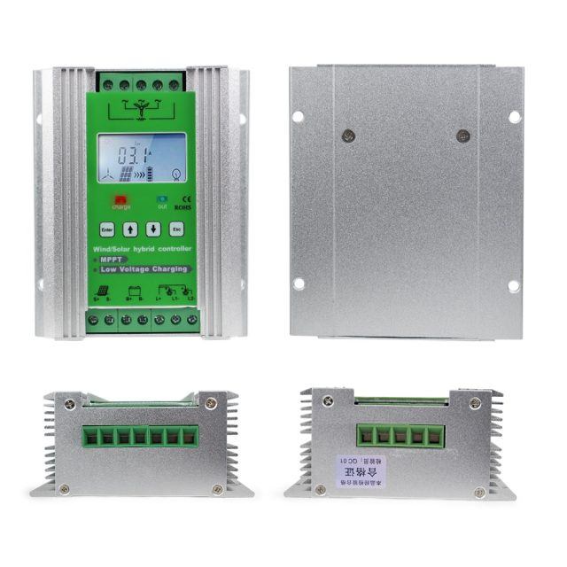Universal MPPT Wind and Solar Charge Controller