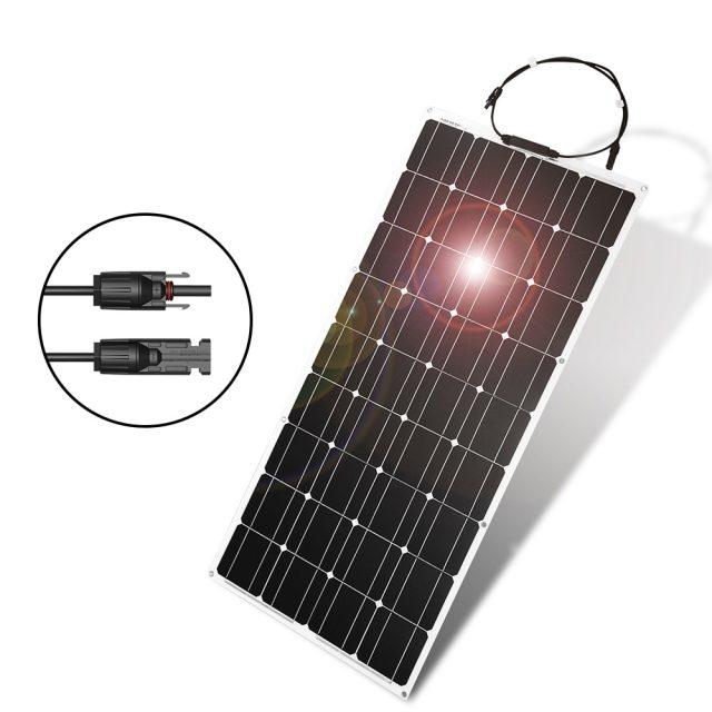100W Monocrystalline Flexible Solar Panels