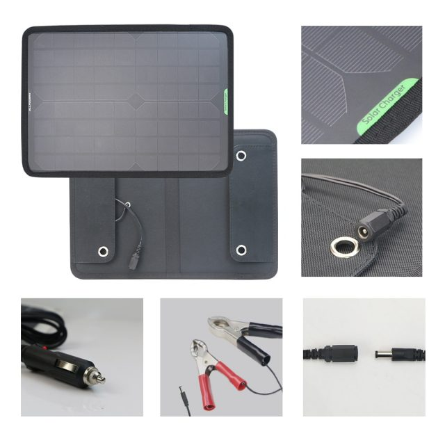 Monocrystalline Silicon Solar Panel Car Charger