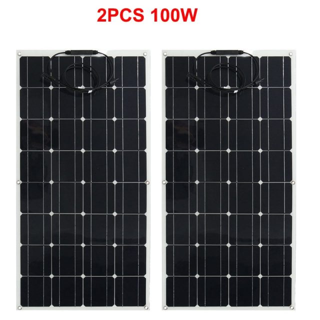 Simple 200W Solar Panel for Garden