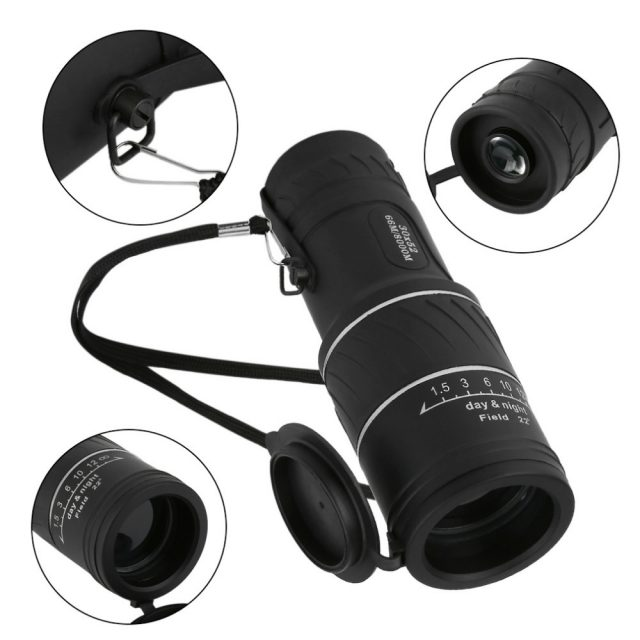 Dual Focus Night Vision Monocular