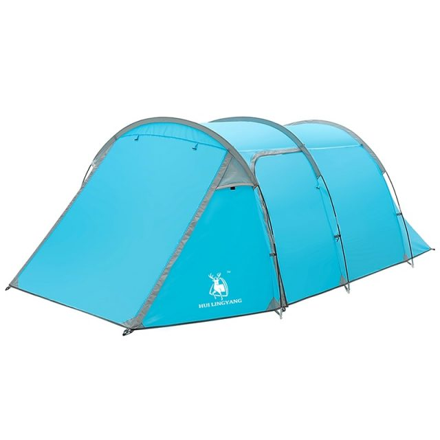 Large 2-Room Family Camping Tent