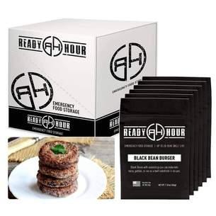 Ready Hour Black Bean Burger Mix Case Pack (36 servings, 6 pk.)