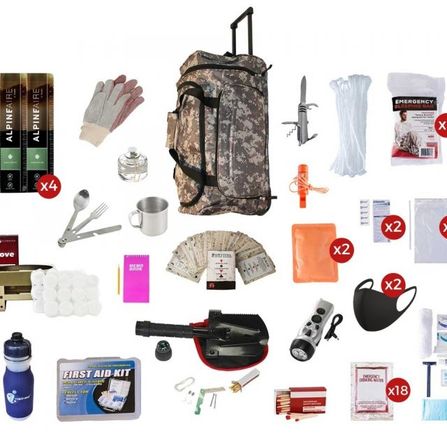 Diehardprepper.com offers survival food kits