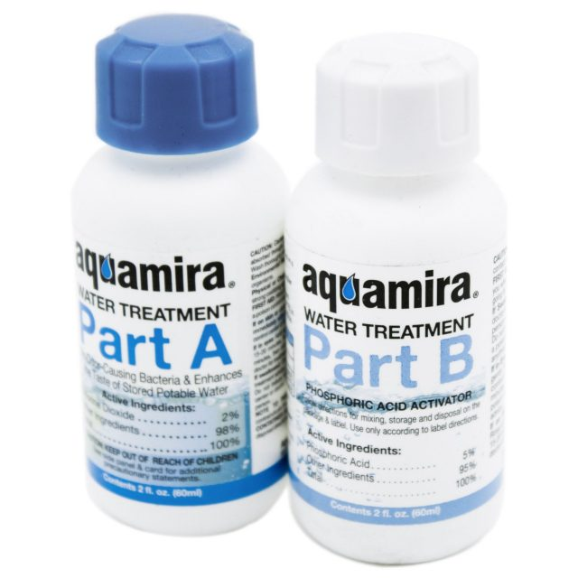 Aquamira Water Treatment – Treat up to 60 Gallons of Water