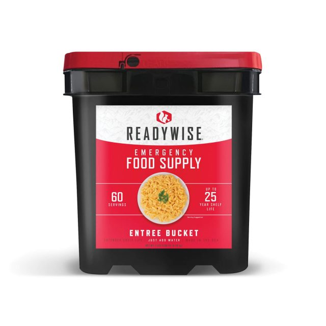 60 Serving Entree Only Grab n Go Bucket